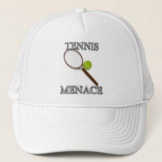 Boné Ameaça do tênis
