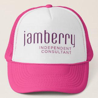 Boné Ameixa de Jamberry e chapéu do camionista da