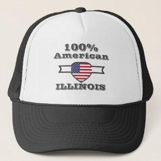 Boné Americano de 100%, Illinois