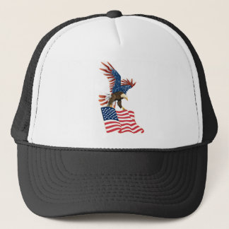 Boné Americano Eagle
