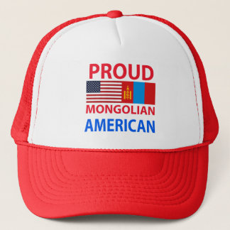 Boné Americano orgulhoso do Mongolian