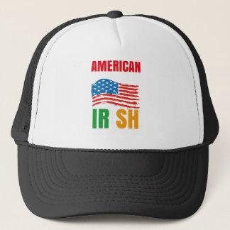 Boné Americano pelo IRLANDÊS do nascimento pela graça