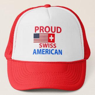Boné Americano suíço orgulhoso