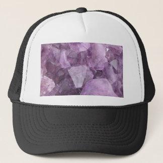Boné Ametista violeta macia