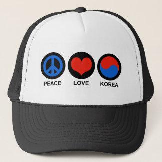 Boné Amor Coreia da paz