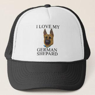 Boné Amor de Shepard do alemão