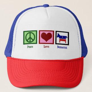 Boné Amor Democrata da paz