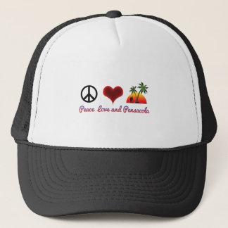 Boné amor e pensacola da paz