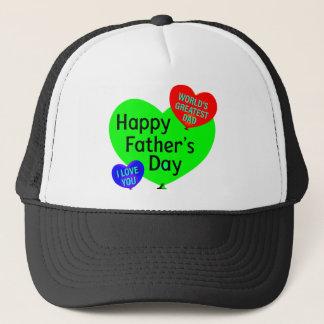 Boné Amor feliz do dia dos pais