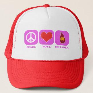 Boné Amor Sri Lanka da paz