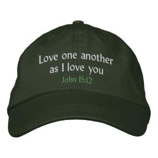 Boné Amor um outro como eu te amo o chapéu
