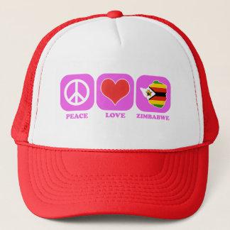 Boné Amor Zimbabwe da paz