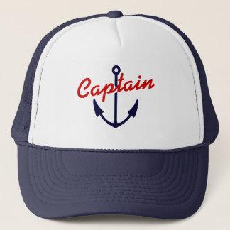 Boné Âncora náutica dos azuis marinhos do chapéu | do