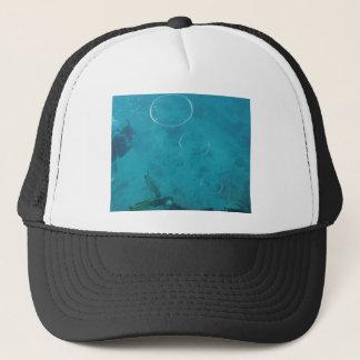 Boné Anéis subaquáticos do fumo