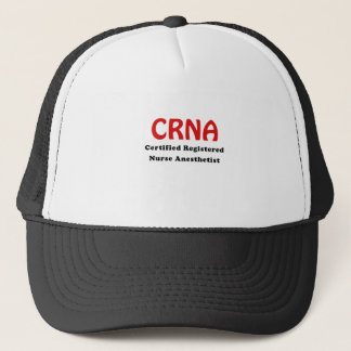 Boné Anesthetist certificado CRNA da enfermeira