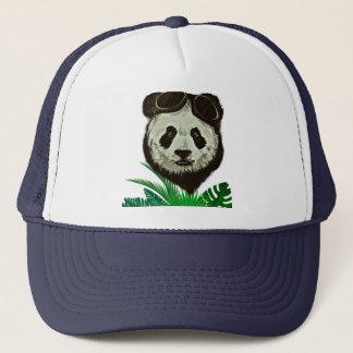 Boné Animal do urso de panda do hipster