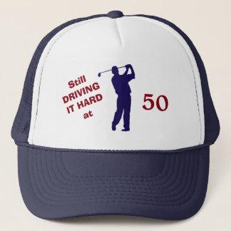 Boné Aniversário 50 do jogador de golfe