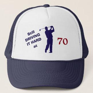 Boné Aniversário 70 do jogador de golfe