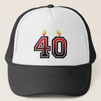 Boné Aniversário de 40 anos