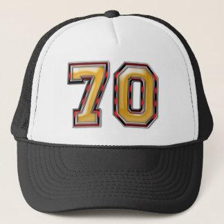Boné aniversário do 70