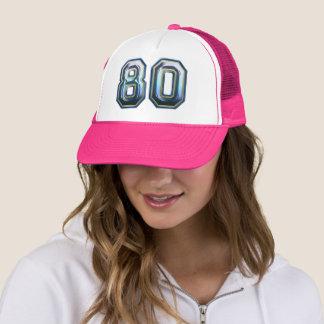 Boné aniversário do 80
