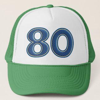 Boné Aniversário número 80