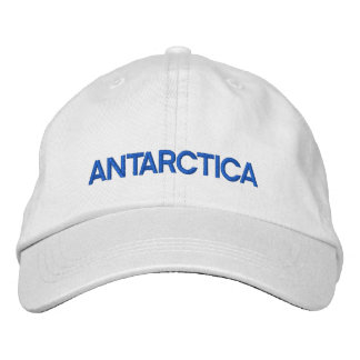 Boné Antarctica* personalizou o chapéu ajustável