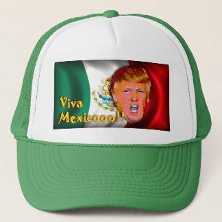 Boné Anti chapéu de Donald Trump Viva México