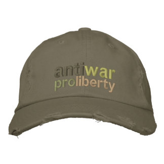 Boné Anti guerra