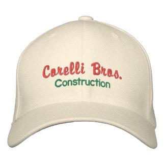 Boné antiquado da empresa de construção civil