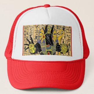 Boné Anubis que dá o chapéu da vida para sempre