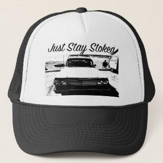 Boné Apenas carro clássico Stoked estada Cali do chapéu