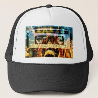 Boné Apenas pare e escute AGORA chapéu do camionista