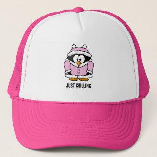 Boné Apenas refrigerando, chapéu engraçado do