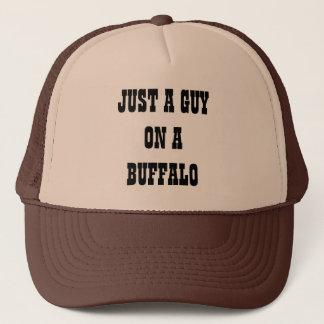 Boné Apenas uma cara em um búfalo
