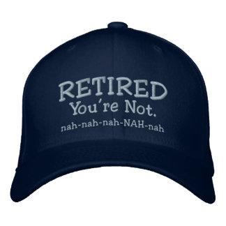 Boné Aposentado - chapéu engraçado