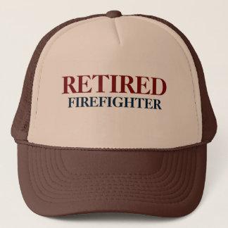 Boné aposentado do sapador-bombeiro