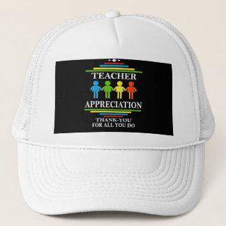 Boné Apreciação do professor obrigado para tudo você