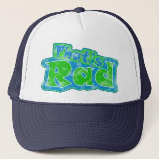 Boné Aquele é chapéu do Rad