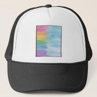 Boné Arco-íris abstrato