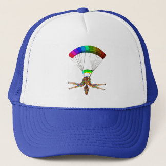 Boné Arco-íris Skydiving pelos Feliz Juul Empresa