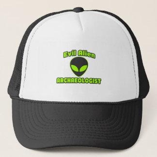 Boné Arqueólogo estrangeiro mau