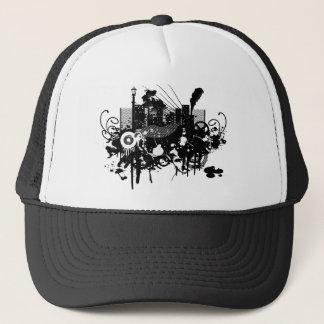 Boné Arranha-céus da cidade do design gráfico!