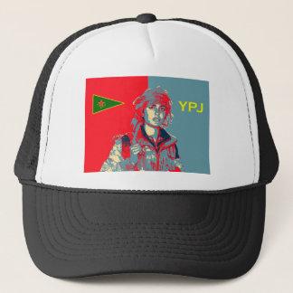 Boné Arte curdo 2 do lutador de YPJ