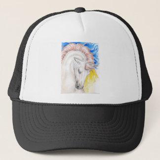Boné Arte da aguarela do cavalo