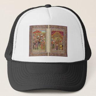 Boné Arte muçulmana islâmica de Boho do Islão de India