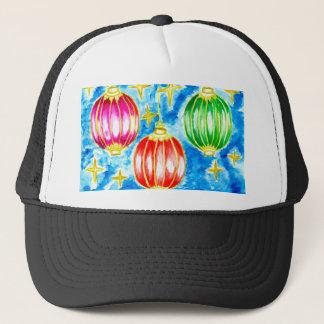 Boné Arte oriental das lanternas