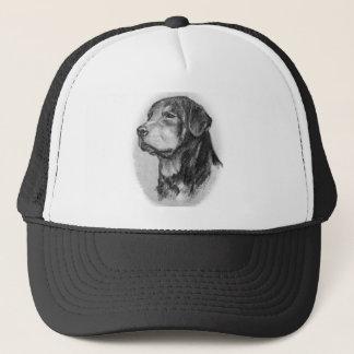 Boné Arte original de Rottweiler por LN Pettey