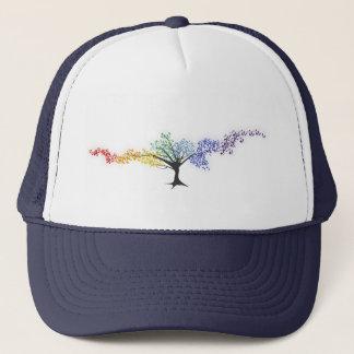 Boné Árvore de borboletas coloridas