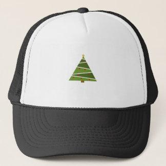 Boné Árvore de Natal simples mas bonita